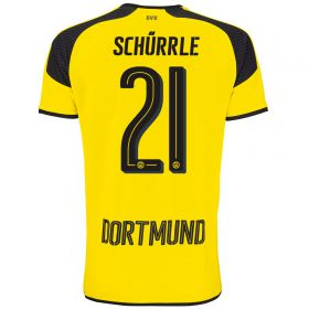 BVB International Home Shirt 2016-17 - Outsize with Schürrle 21 printing