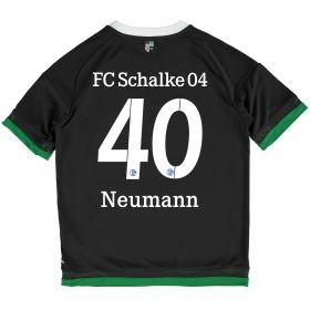 Schalke 04 Third Shirt 2015-17 - Kids Grey with Neumann 40 printing