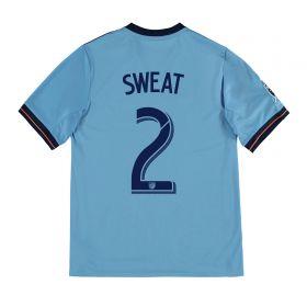 New York City FC Home Shirt 2017-18 - Kids with Sweat 2 printing