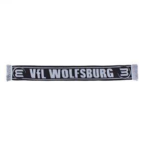 VfL Wolfsburg Reversible Scarf - Black - Adult