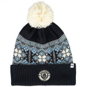 Manchester City 47Brand Huntly Cuff Knit - Navy