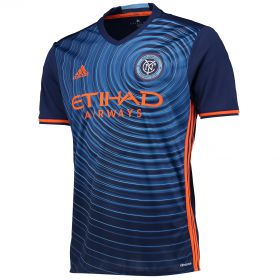 New York City FC Away Shirt 2016-17 with Ring 8 printing