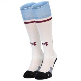 Aston Villa Away Socks 2016-17 White