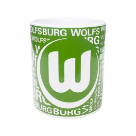 VfL Wolfsburg Logo Word Mug