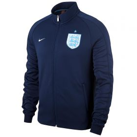 England N98 Authentic Track Jacket - Navy