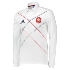 France Supporters Jersey -Long Sleeve - White