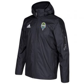 Seattle Sounders Coaches Jacket - Black