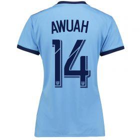 New York City FC Home Shirt 2017-18 - Womens with Awuah 14 printing