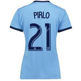 New York City FC Home Shirt 2017-18 - Womens with Pirlo 21 printing