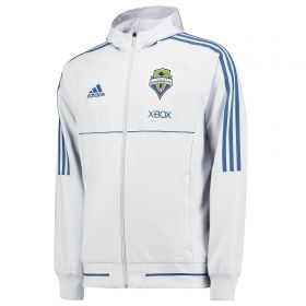 Seattle Sounders Travel Jacket - Blue