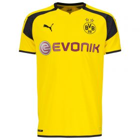 BVB International Home Shirt 2016-17 - Outsize with Subotic 4 printing