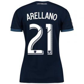 LA Galaxy Away Shirt 2017-18 - Womens with Arellano 21 printing