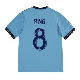 New York City FC Home Shirt 2017-18 - Kids with Ring 8 printing