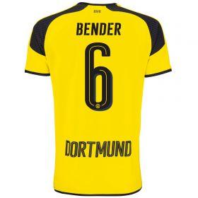 BVB International Home Shirt 2016-17 - Outsize with Bender 6 printing