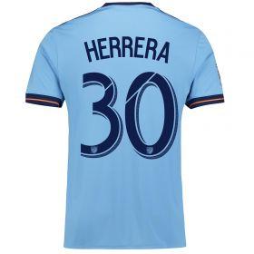 New York City FC Home Shirt 2017-18 with Herrera 30 printing