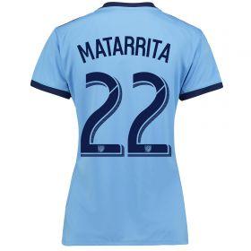 New York City FC Home Shirt 2017-18 - Womens with Matarrita 22 printing