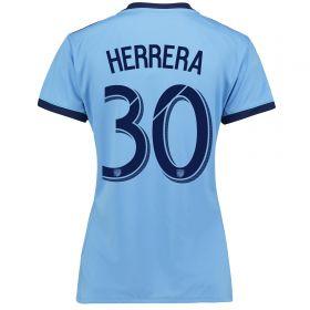 New York City FC Home Shirt 2017-18 - Womens with Herrera 30 printing