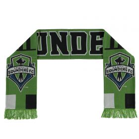 Seattle Sounders Jacquard Scarf - Green