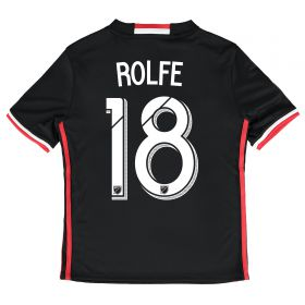 DC United Home Shirt 2016-17 - Kids with Rolfe 18 printing