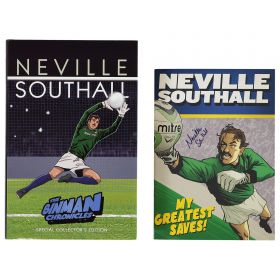 Everton Neville Southall The Binman Chronicles Book - Special Signed Edition