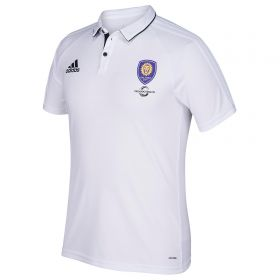 Orlando City SC Coaches Polo - White