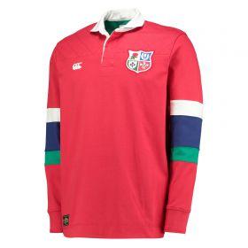 British & Irish Lions Rugby Shirt - Tango Red