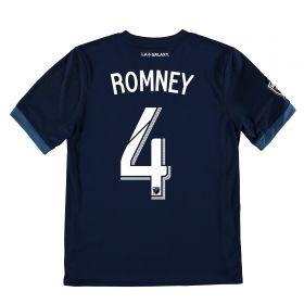 LA Galaxy Away Shirt 2017-18 - Kids with Romney 4 printing
