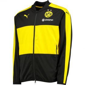 BVB Training Poly Track Jacket - Black
