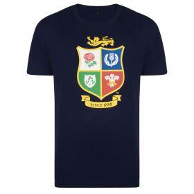 British & Irish Lions NZ 2017 T-Shirt - Navy