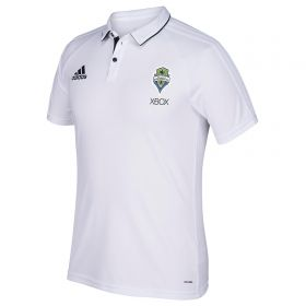 Seattle Sounders Coaches Polo - White