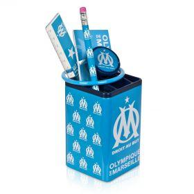 Olympique de Marseille Pen Holder Set