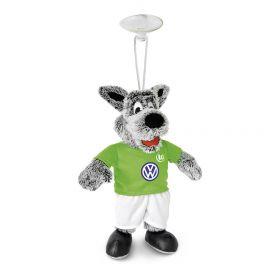 VfL Wolfsburg Wolfi Mascot Car Hanger - 22cm