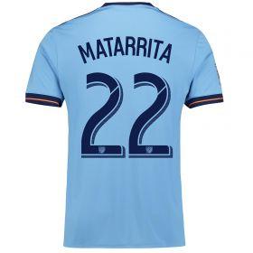 New York City FC Home Shirt 2017-18 with Matarrita 22 printing