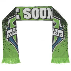Seattle Sounders Jacquard Scarf Green