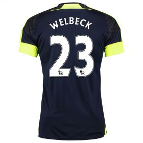 Arsenal Third Shirt 2016-17 with Welbeck 23 printing