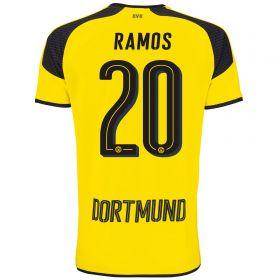 BVB International Home Shirt 2016-17 - Outsize with Ramos 20 printing