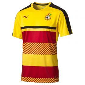 Ghana Training Jersey - Yellow-Red