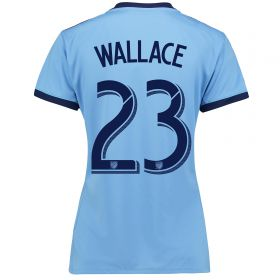 New York City FC Home Shirt 2017-18 - Womens with Wallace 23 printing