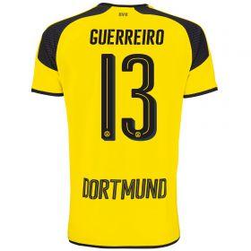 BVB International Home Shirt 2016-17 - Outsize with Guerreiro 13 printing