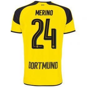 BVB International Home Shirt 2016-17 - Outsize with Merino 24 printing