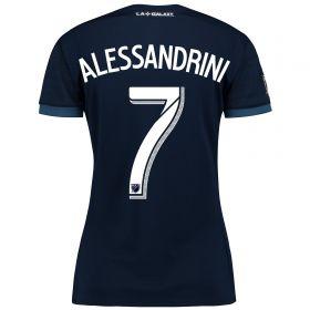 LA Galaxy Away Shirt 2017-18 - Womens with Alessandrini 7 printing
