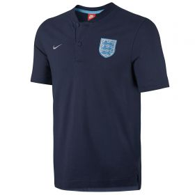 England Authentic Grand Slam Polo - Navy