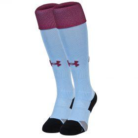 Aston Villa Home Socks 2016-17 Sky Blue