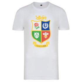 British & Irish Lions NZ 2017 T-Shirt - White