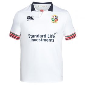 British & Irish Lions Pro Training Rugby Shirt - Bright White
