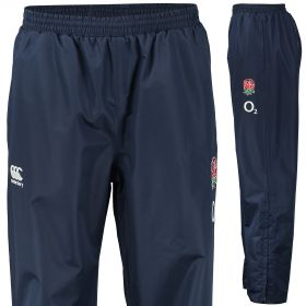 England Rugby Wet Weather Presentation Pant Navy
