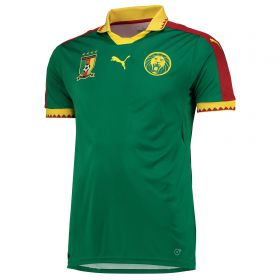 Cameroon Home Shirt 2016-17 with Moukandjo 8 printing