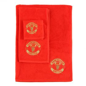 Manchester United Jacquard Towel Set