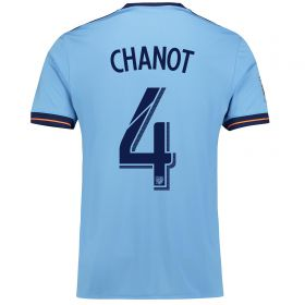 New York City FC Home Shirt 2017-18 with Chanot 4 printing