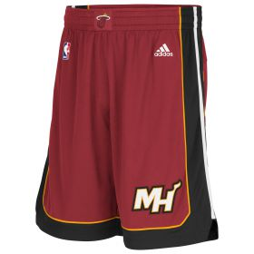 Miami Heat Alternate Swingman Shorts - Mens